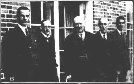 Shiner far Right 1936 Whilst on Hampshire query County Council