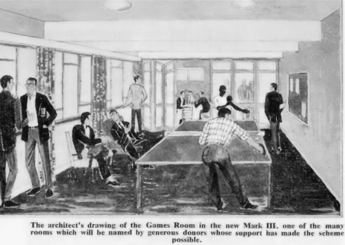 Artists Impression 1962 rebuild