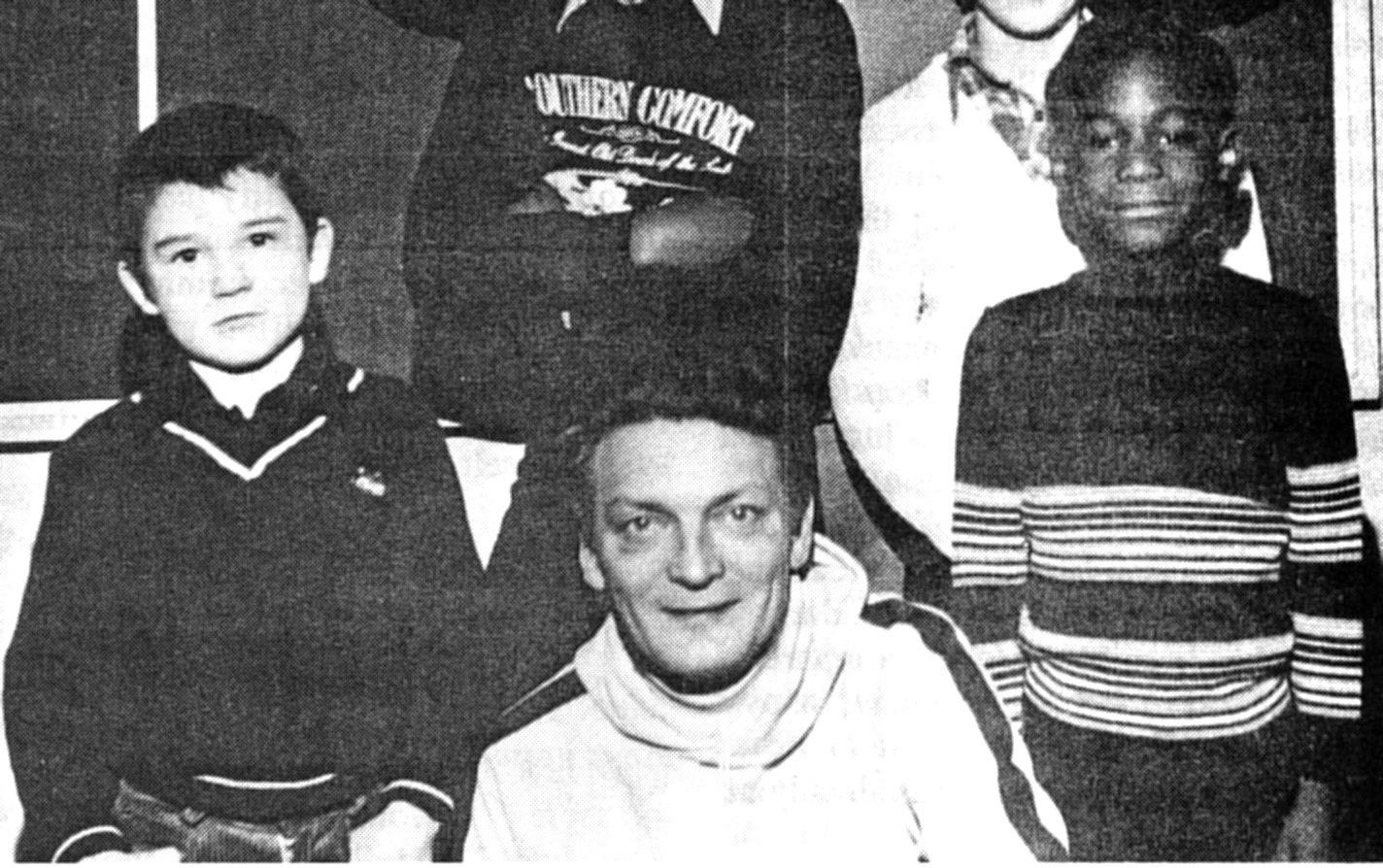 Bob Haimes Warden Toc H Youth Centre Hackney1979