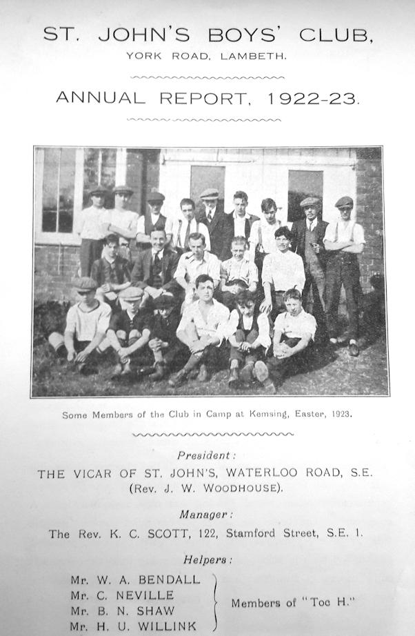 Boys Club report