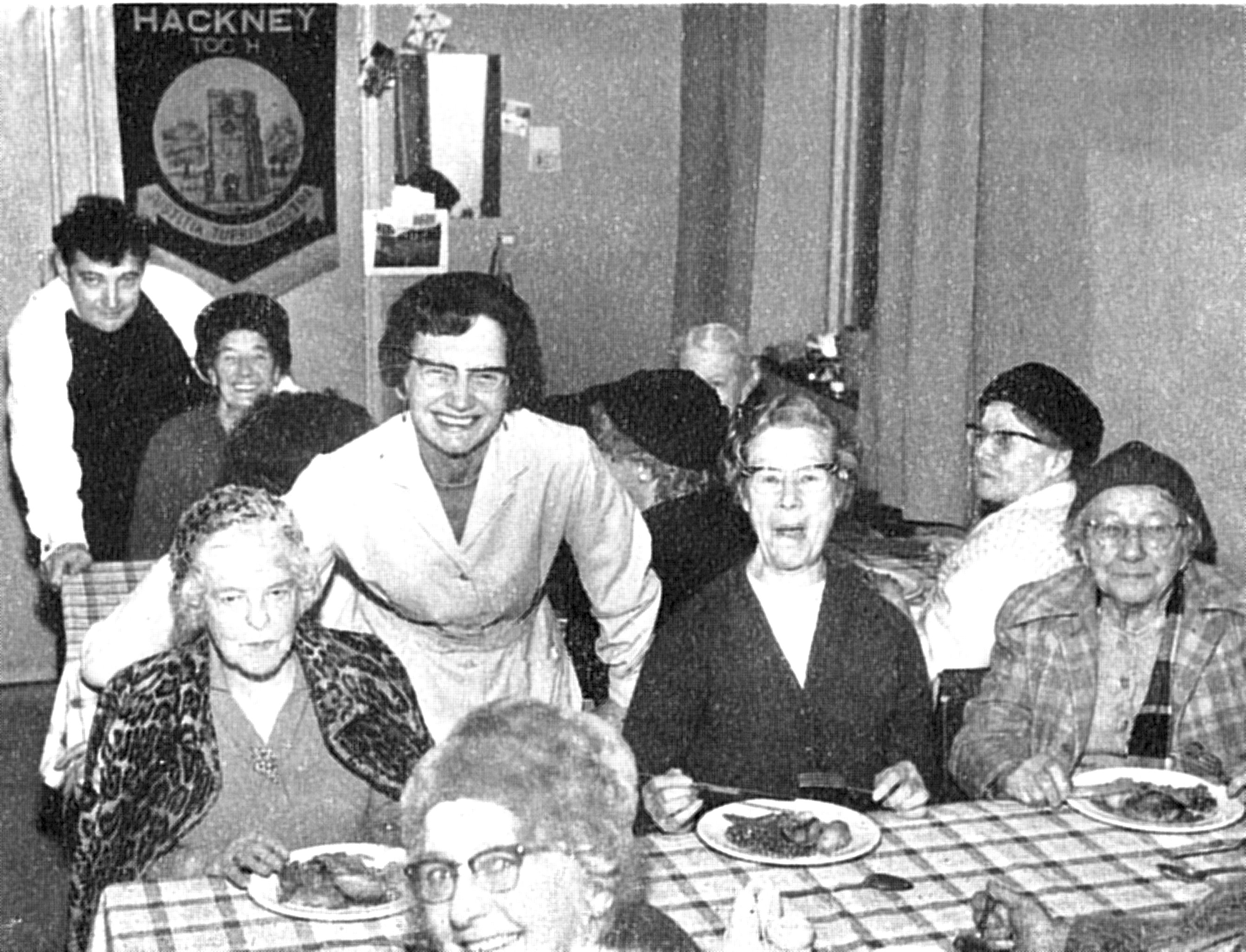 PH Lunch Club 1970 Gualter and Miss Ann Brace