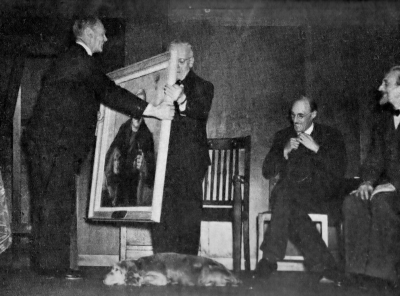 Billy at presentation of portrait 23 Sep 1947